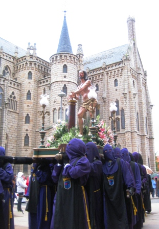 Semana Santa en Astorga, 2011