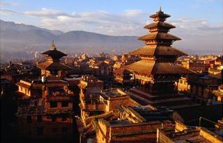 Bhaktapur Durbar, el templo Nyatapola es el más grande