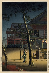 Té en el templo Kiyomizudo