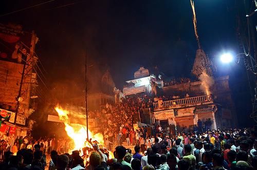 Holi bonfire_photo of Thinkinfella